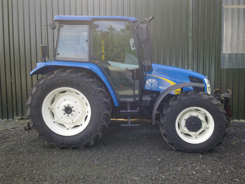 New Holland Tl100a Sold Previously Sold Tractors